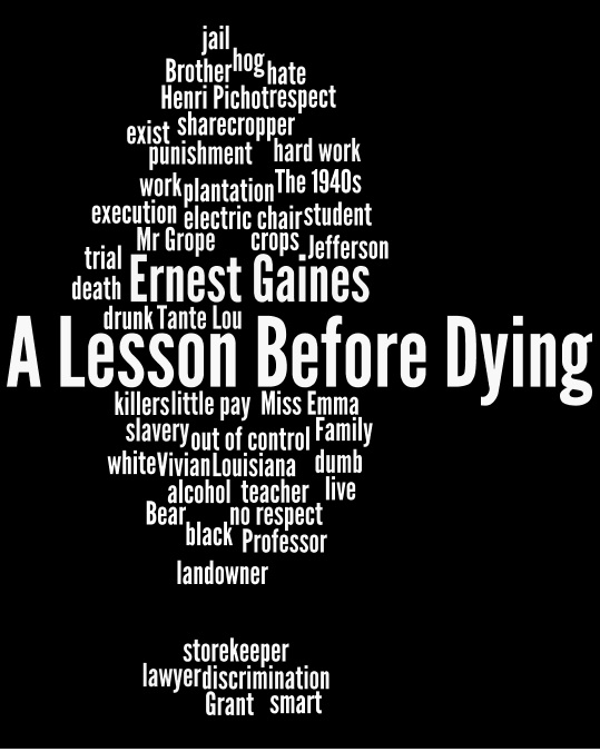 antithesis in a lesson before dying 1 in playing in the dark, morrison broadly analyzes the antithesis between the white man, harry constructing black manhood in a lesson before dying.