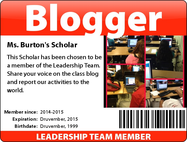 Blogger ID badge