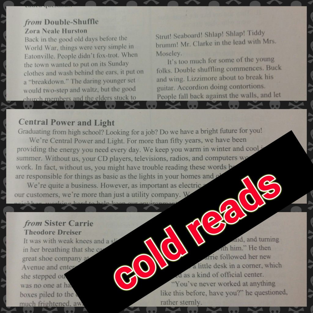 cold reads